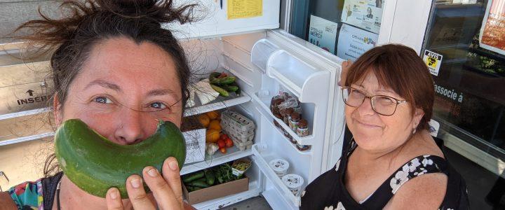 Vive les frigos partages !